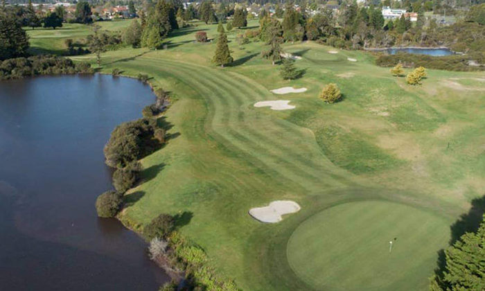 Crown quits steaming golf course