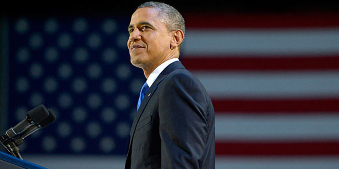 Broad support gets Obama second term