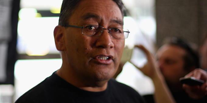 Harawira to fight housing protest charge