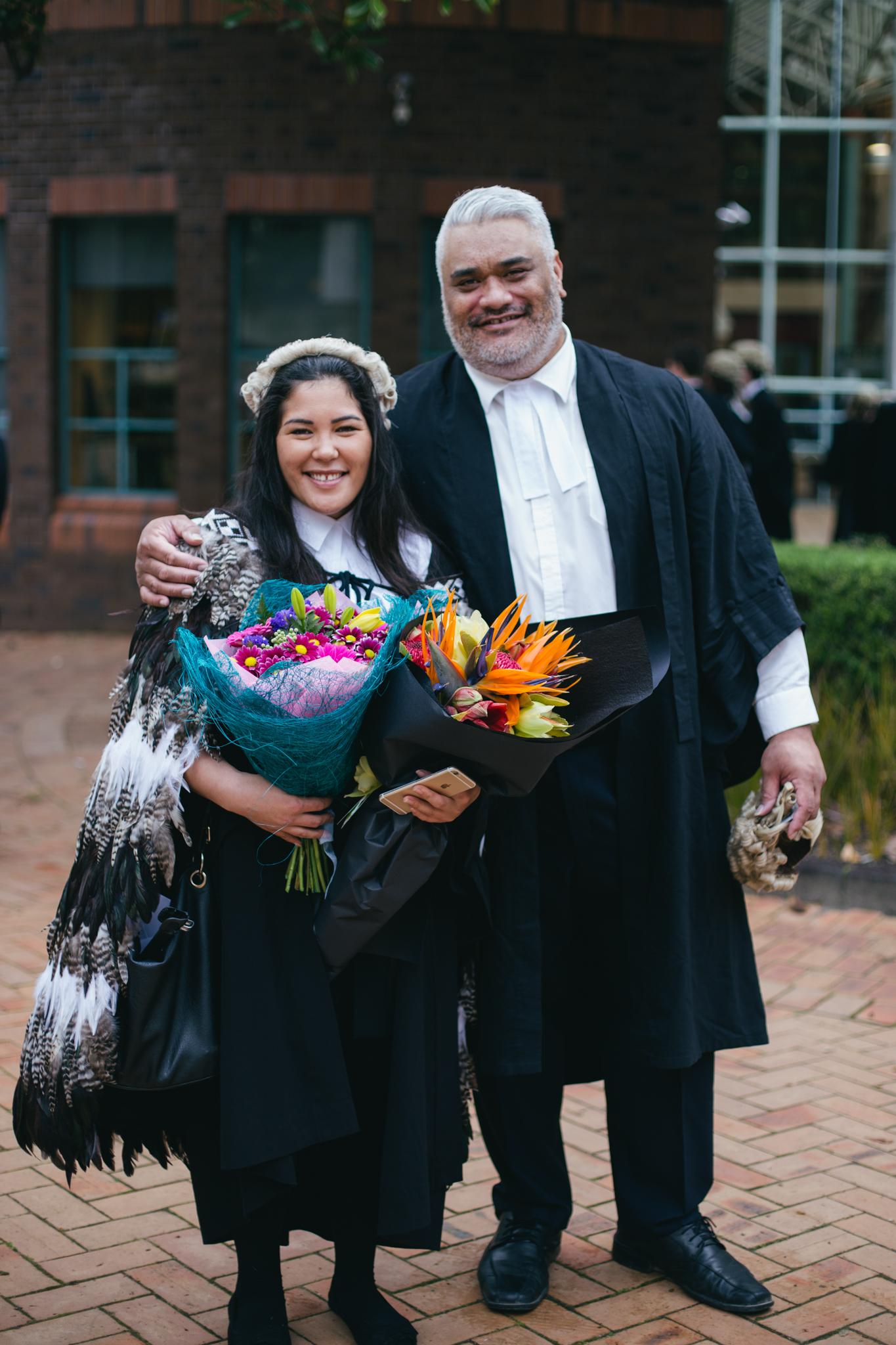 University of Auckland Law Graduate Jonaan McLeod on Te Wahanga Parakuihi with Dale Husband
