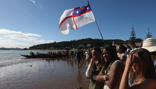 Waitangi evolution shows nation changing