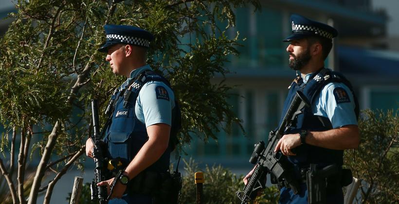 Armed police a breach of public trust