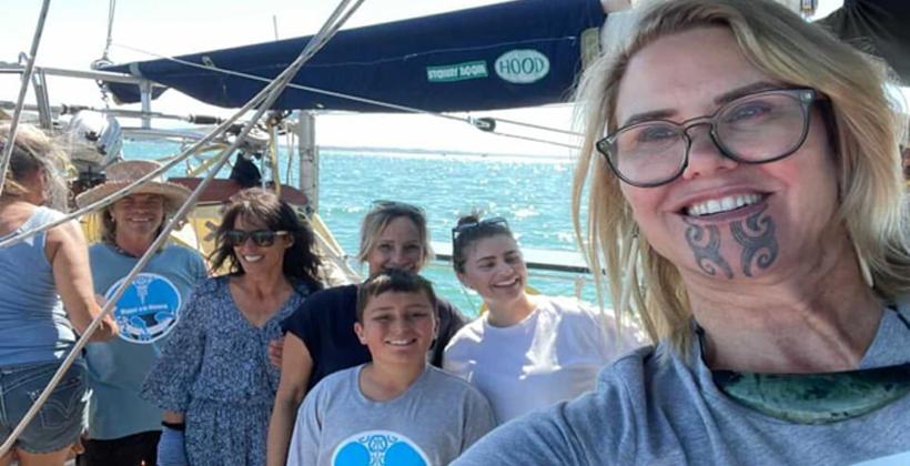 Flotilla highlights threats to Tikapa Moana