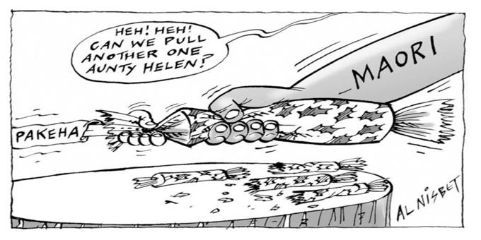 Racists cartoons scrutinised