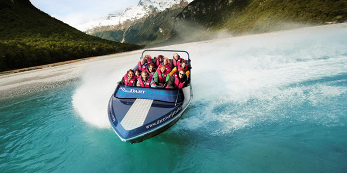 Challenge to darting jet boats