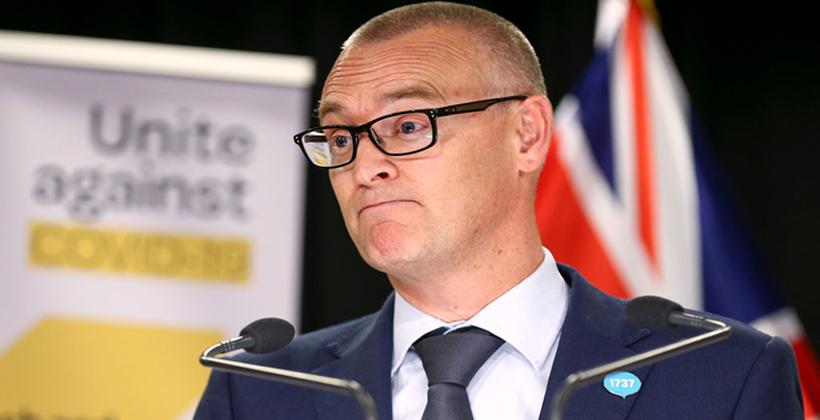 Health Minister David Clark says he was an idiot