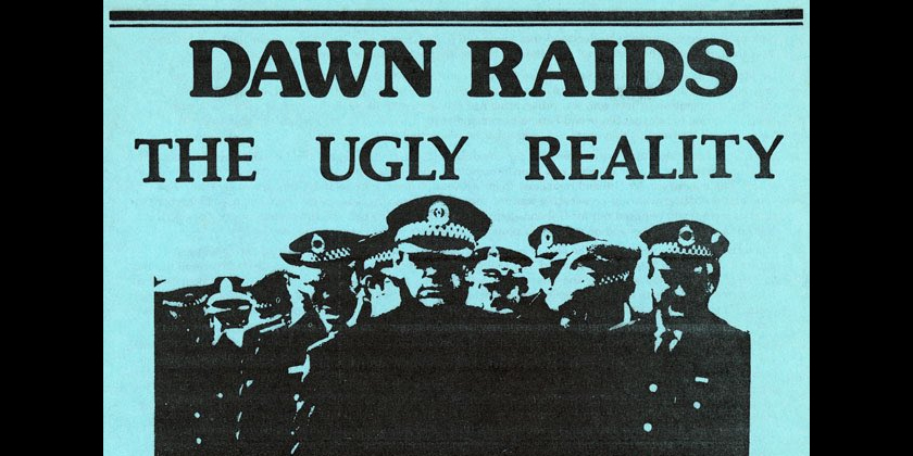 Time right for dawn raids apology