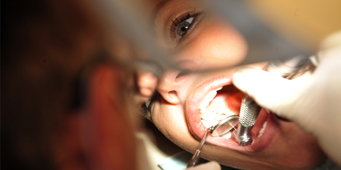 Army campaign takes on teeth