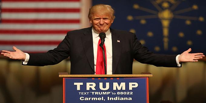 The amazing Trump