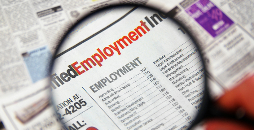Employment focus for today's Budget