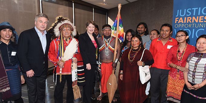 Clark best UN candidate for indigenous support