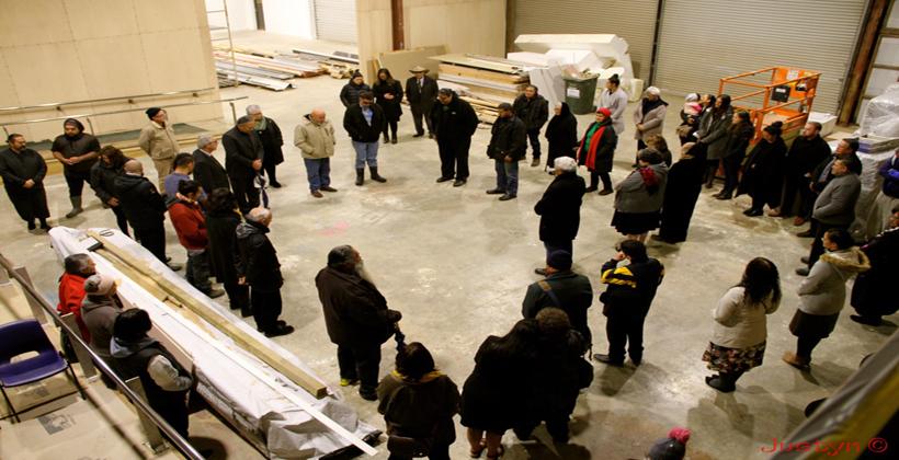 Waka builders share skills
