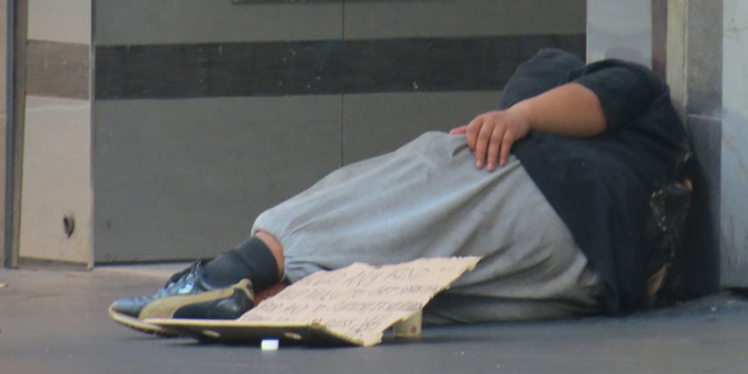 Two events from homelessness