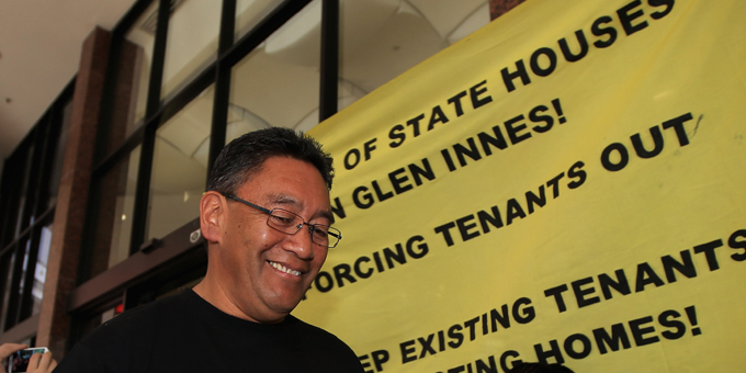 Harawira protest brings housing crisis to public eye