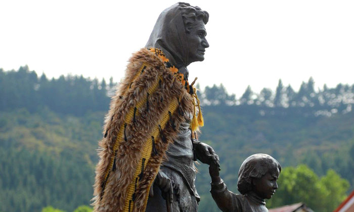 Statue brings back memories of Whaea Whina Cooper
