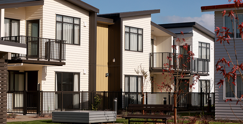 State housing target on track with new builds