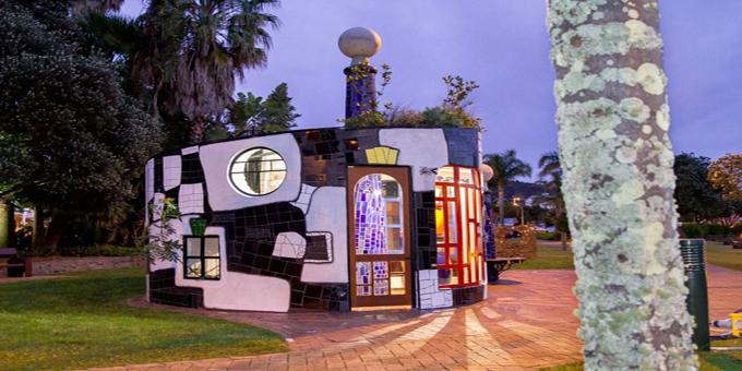Hundertwasser gallery great opportunity for Maori artists