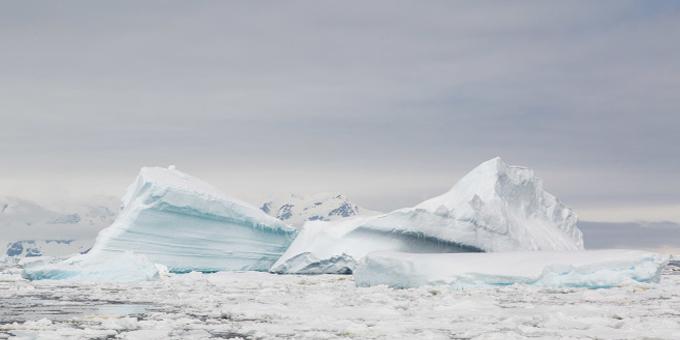 Ice mountains inspire tekoteko