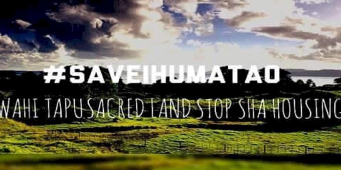 Standing Rock he rite ki te iwi o Ihumatao