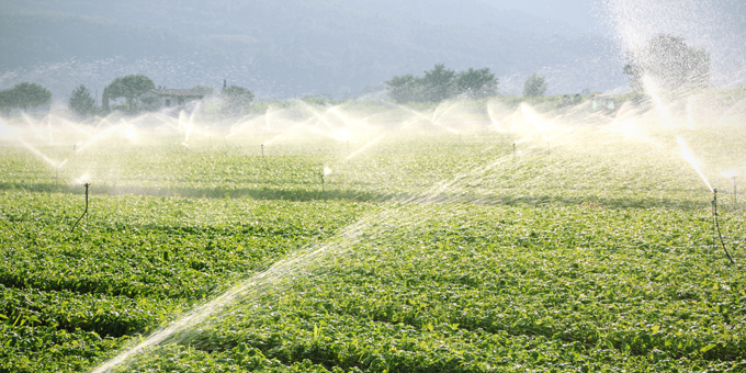Money poured into thirsty farmers