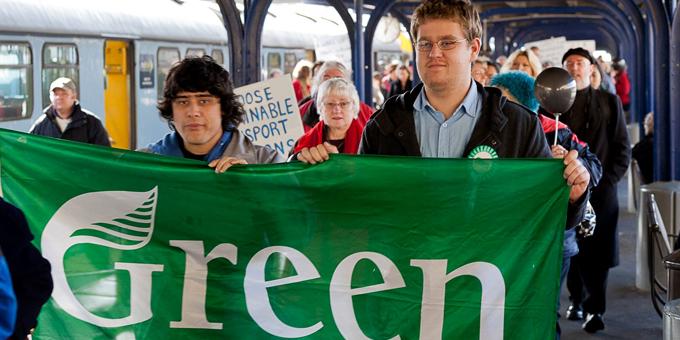 McDonald makes second run for Green vote
