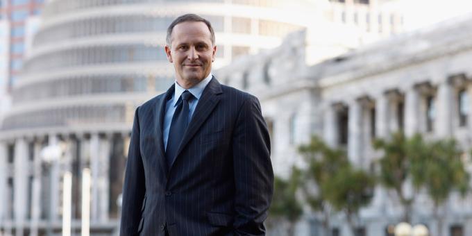 NZ settlement peaceful says Key