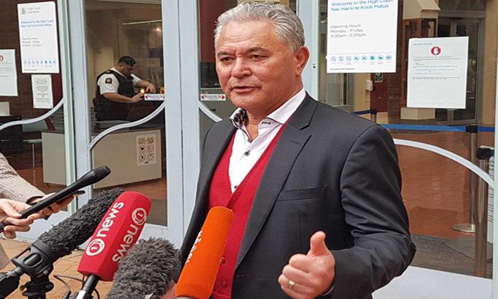 Hosking apologises for Tamihere slur