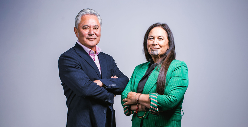 Press Release: Tamihere and Ngarewa-Packer announced as new Māori Party Co-leaders