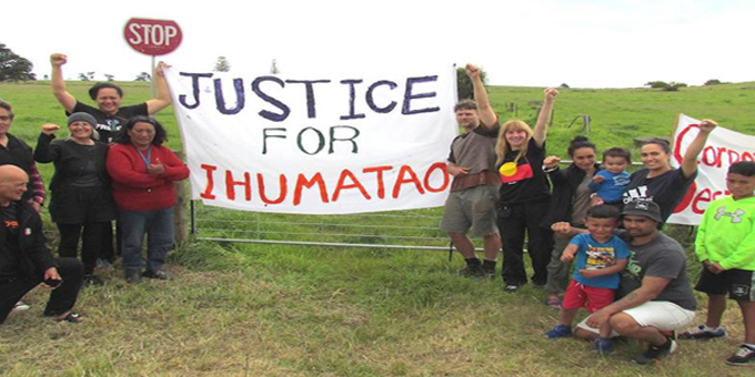 Ihumatao protest heads for UN