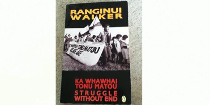 Historian to continue Maori struggle