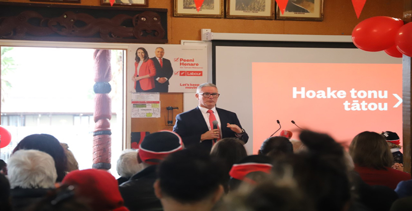 Labour counts on Māori support