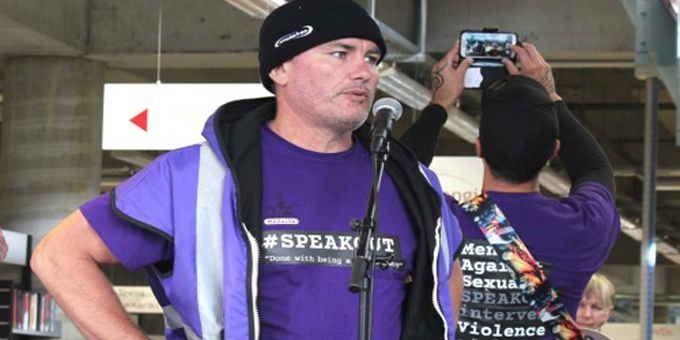 Davis marathon to break violence silence