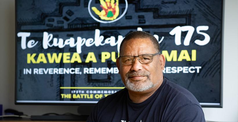 Grant for Te Herenga Waka researcher working with Te Ruapekapeka Trust