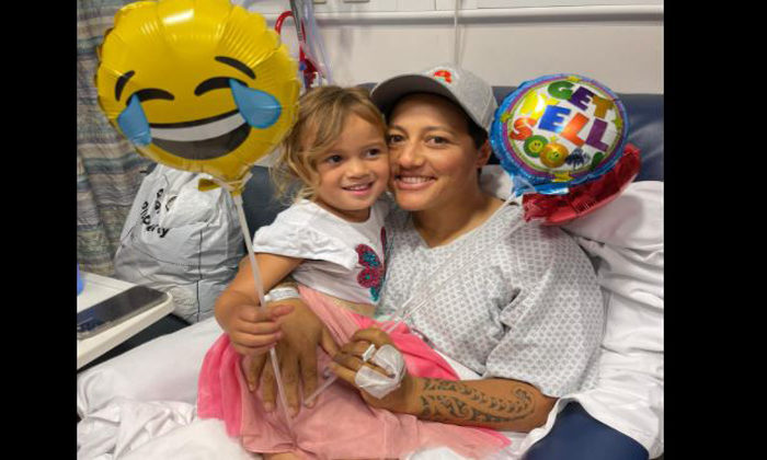 Aroha from all as Allan starts cancer treatment
