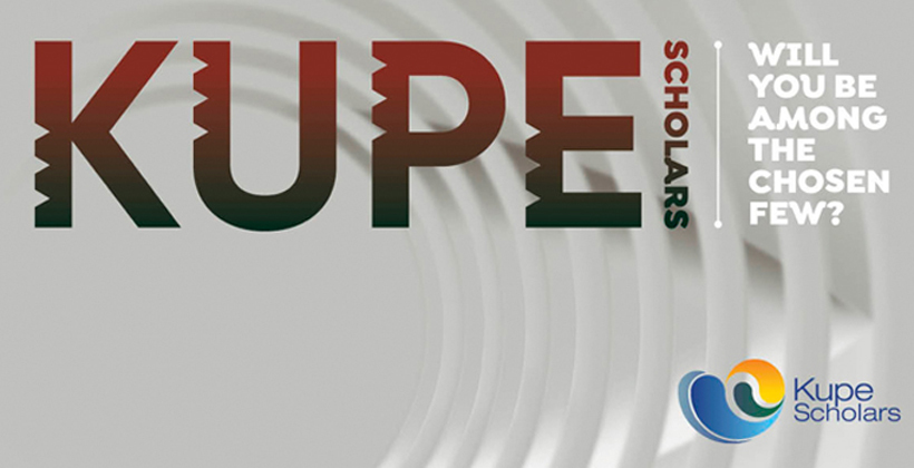 High expectations of Kupe scholars