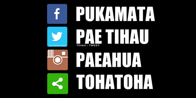 Te reo Maori moves into social media