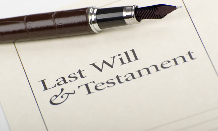 Need for whānau to make a Will