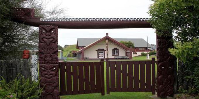 Taranaki links honoured in Kawhia rededication