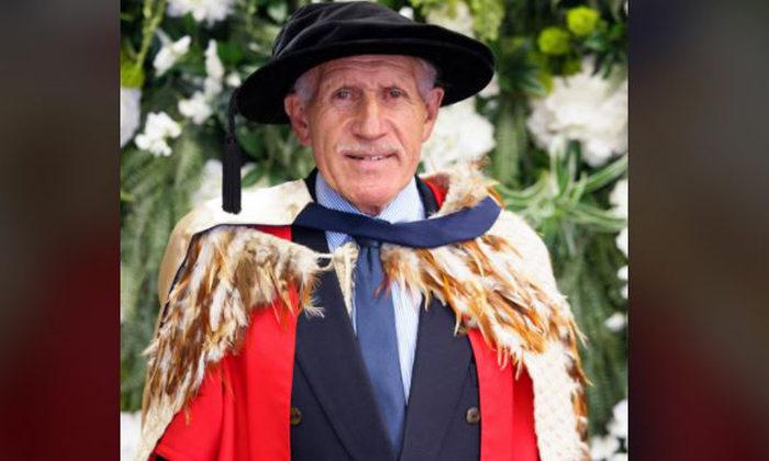 Honorary doctorate for shearer turned educator