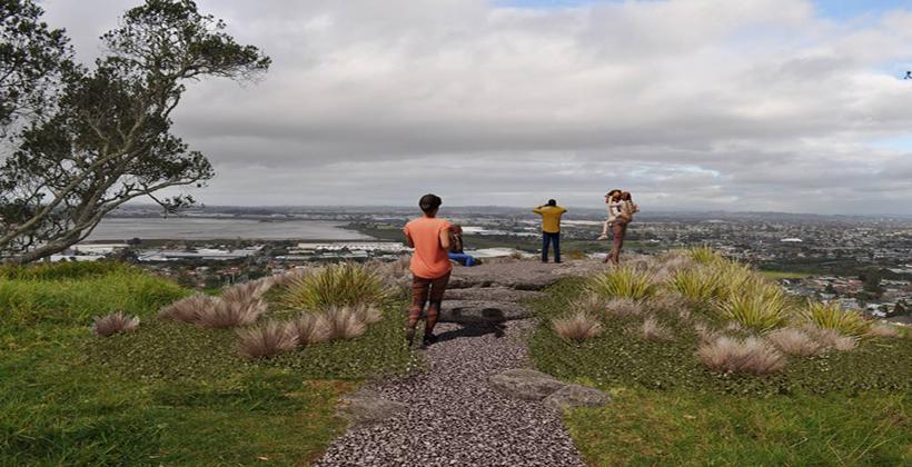 New tracks for Mangere Maunga