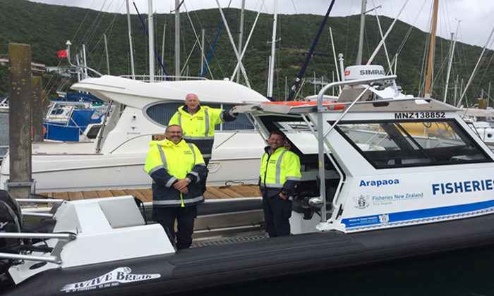 New compliance tool for Marlborough fishery officers