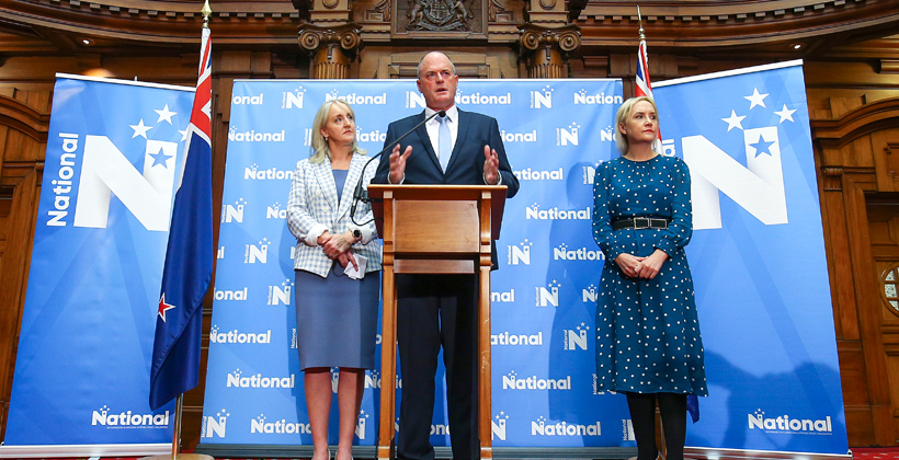 National's passive racism highlighted in Muller reshuffle