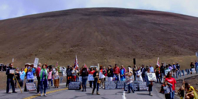 Maori and Hawaiians Unite to Stop Desecration of Ancestral Lands of Hawaii