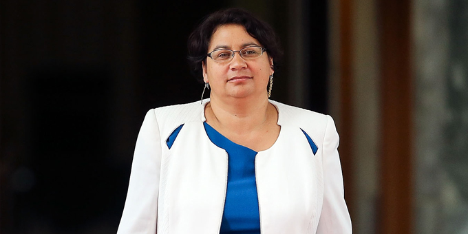 Turei carries flag for gender