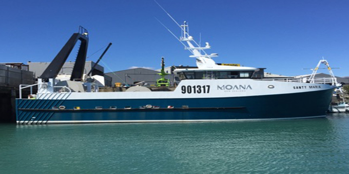 First boat in new Moana fleet launched