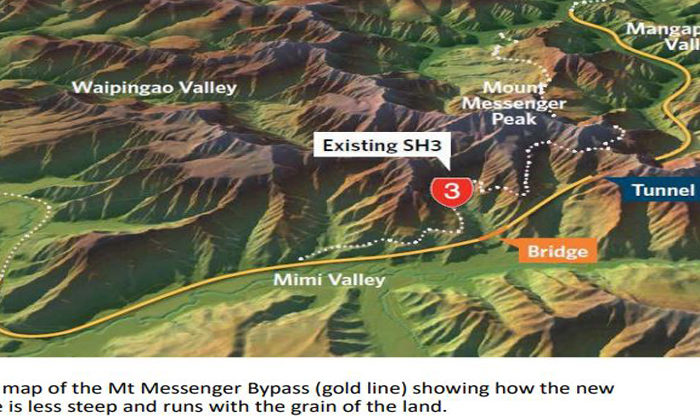 Ngati Tama backing for Mt Messenger bypass secured