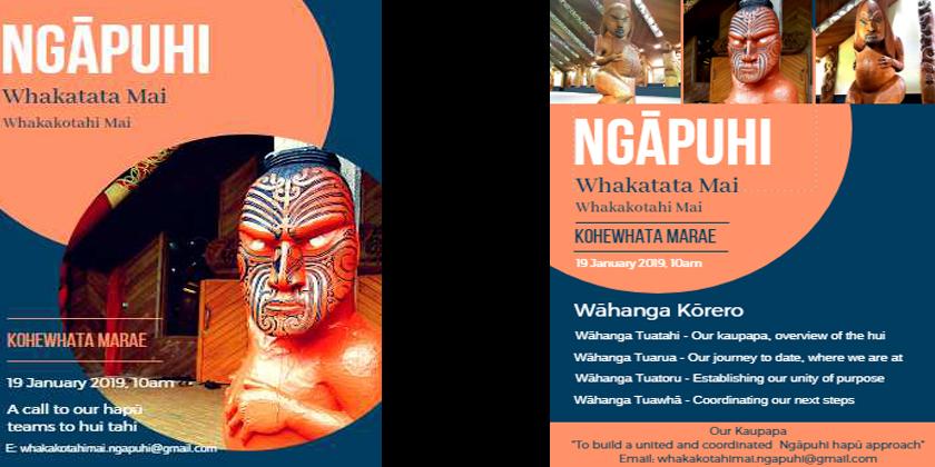Whakatata Mai Whakakotahi Mai Ngāpuhi