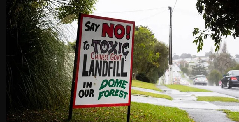 Petition calls for Dome Valley dump to be dumped