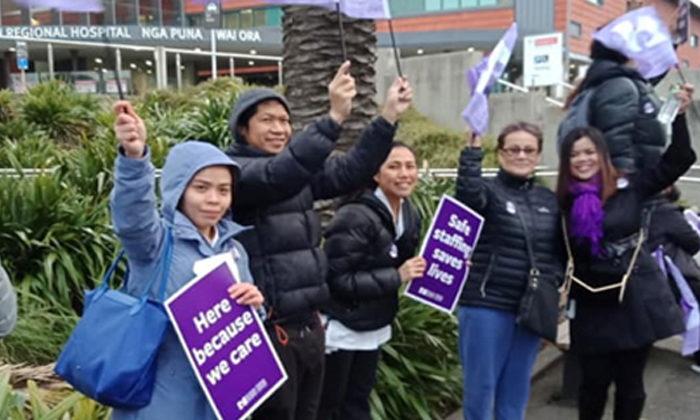 Nurses pay becomes treaty issue