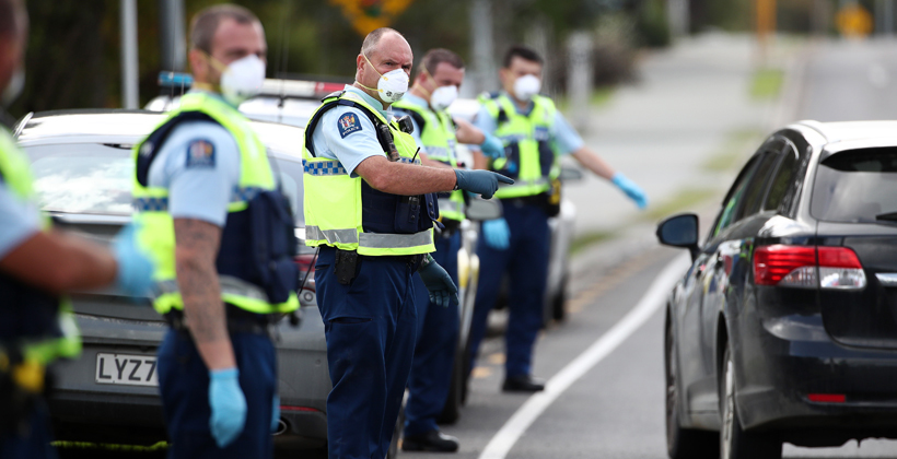 Iwi left out of police road checks